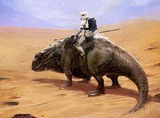 Dewback trooper TNsR