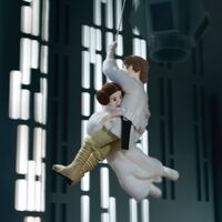 Star Wars Epic Yarns - Felt Luke and Leia
