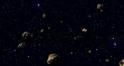 Tatooine asteroid field