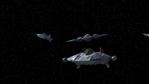 Dogfight over Concord Dawn