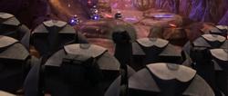 Clones fight on Rugosa