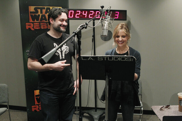 File:Dave Filoni and Sarah Michelle Gellar.jpg