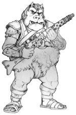 Gamorrean thug