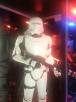 First Order Flametrooper The Force Awakens Exhibit