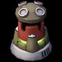 Burst Turret Lvl 7 - Rebel