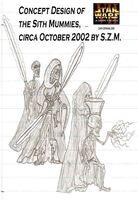 Sith mummies Concept art