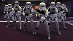 Several stormtroopers