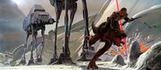 Ralph McQuarrie AT-AT Concept Art