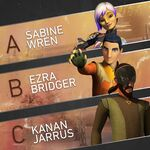New look Kanan,Ezra and Sabine