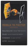 Rebels TIE Fighter
