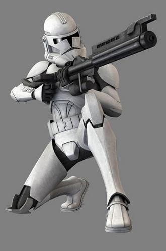 Phase Ii Clone Trooper Star Wars Revenge Of The Sith Minecraft Skin