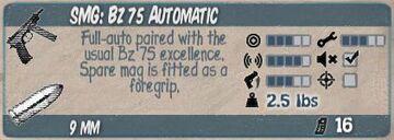 Bz 75 Automatic