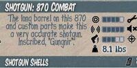 870 Combat