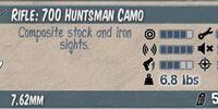 700 Huntsman Camo