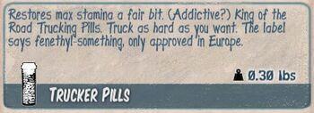 Trucker pills