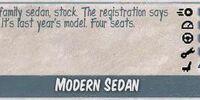 Modern Sedan