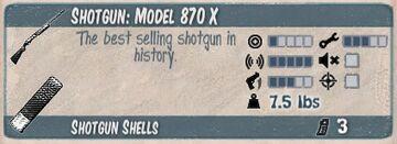 Model 870x