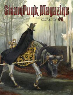 Steampunk Magazine Cover 09