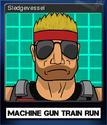 Machine Gun Train Run Card 2