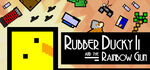 Rubber Ducky and the Rainbow Gun Logo