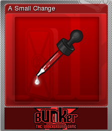 Bunker - The Underground Game Foil 08