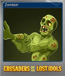 Crusaders of the Lost Idols Foil 4