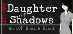 Daughter of Shadows An SCP Breach Event Logo