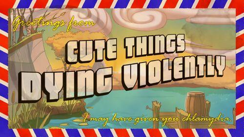 Cute Things Dying Violently Artwork 4