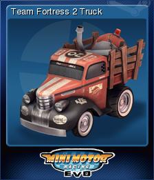 Mini Motor Racing EVO - Team Fortress 2 Truck | Steam Trading Cards Wiki | FANDOM powered by Wikia
