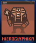 Hieroglyphika Card 02