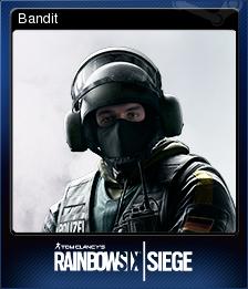 Tom Clancy's Rainbow Six Siege Card 10