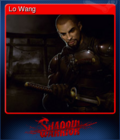 Shadow Warrior Card 1
