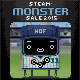 Monster Summer Sale Badge 0500