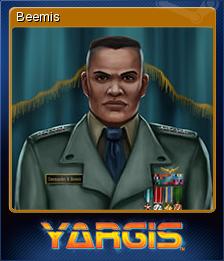 Yargis - Space Melee Card 7