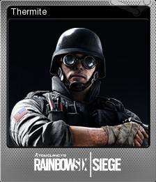 Tom Clancy's Rainbow Six Siege Foil 02