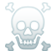 Gone Home Emoticon crossbones
