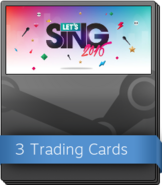 Let's Sing 2016 Booster Pack