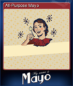 My Name is Mayo Card 2