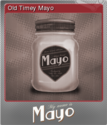 My Name is Mayo Foil 1