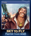Sky To Fly Faster Than Wind Card 2