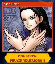 One Piece Pirate Warriors 3 Card 9