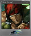THE KING OF FIGHTERS XIII Foil 11