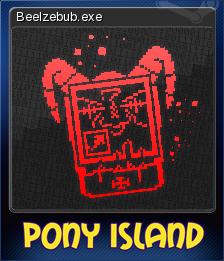 Pony Island Card 3