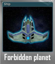 Forbidden planet Foil 5