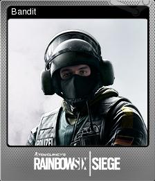 Tom Clancy's Rainbow Six Siege Foil 10