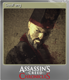 Assassin's Creed Chronicles China Foil 2