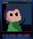 Silver Knight Card 4