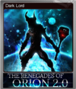 The Renegades of Orion 2.0 Foil 3