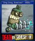 Death by Game Show Card 3
