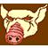 Hotline Miami Emoticon Pig